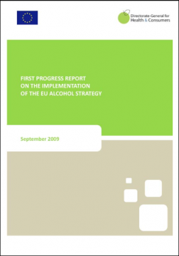 First progress report on the implementation of the EU Alcohol Strategy