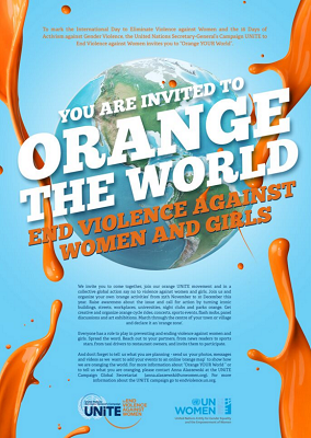 Orange the World - Poster 2015