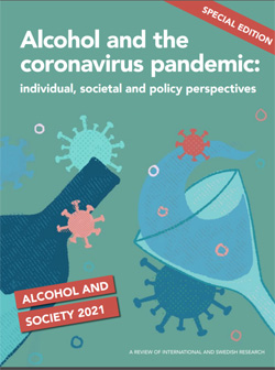 Coverabbildung: Alcohol and the coronavirus pandemic