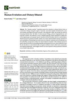 Human-Evolution-and-Dietary-Ethanol