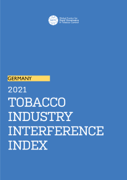 Tobacco Industry Interference Index – Germany -2